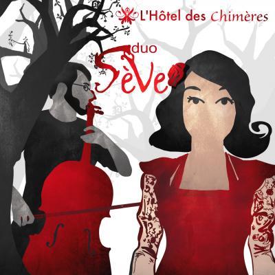 pochette de l'Hôtel des chimères 2017 - par nina-grafic