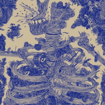 Visuel du vinyle  Artwork by GUILLAIN LE VILAIN