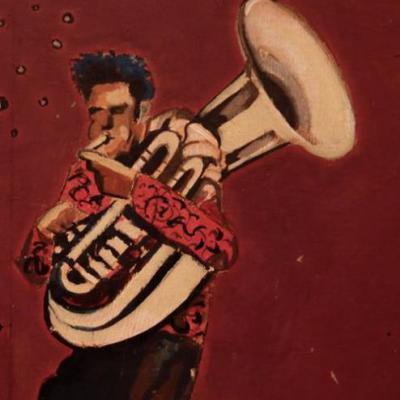 Croquis Nicolas Perruche / Ziveli Orkestar 2014