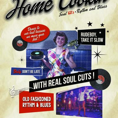 Affiche Concert Home Cookin'