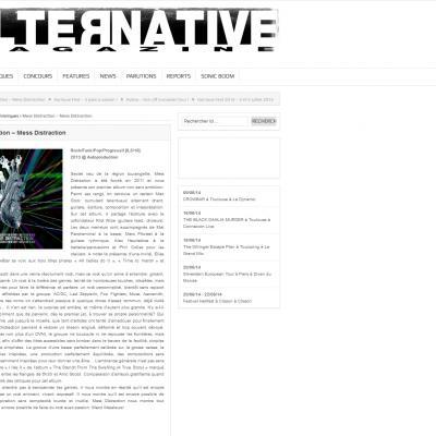 Chronique Mess Distraction Alternative Magazine